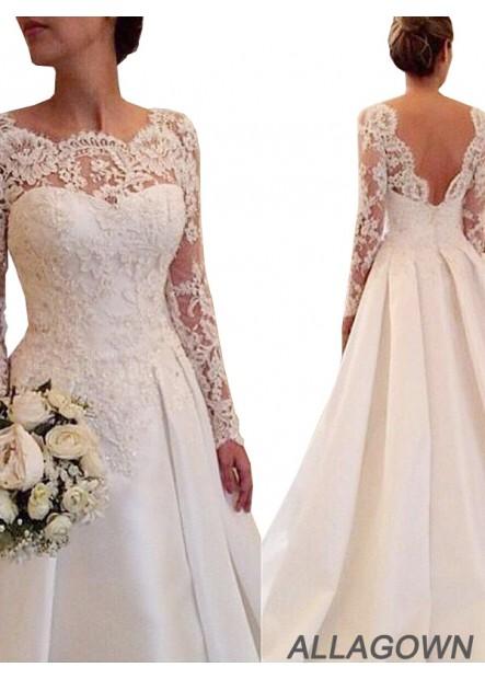 Allagown 2021 Wedding Dresses Cheap Sale