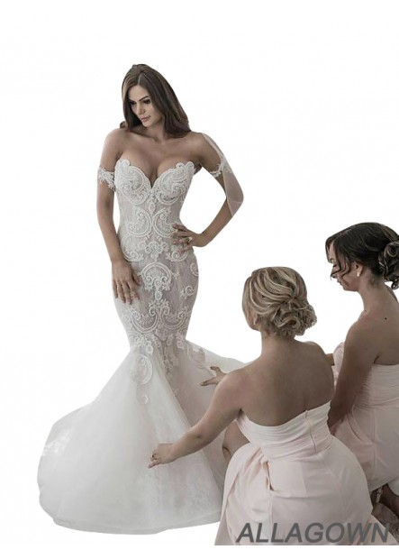 Allagown 2021 Cheap Wedding Dresses Online