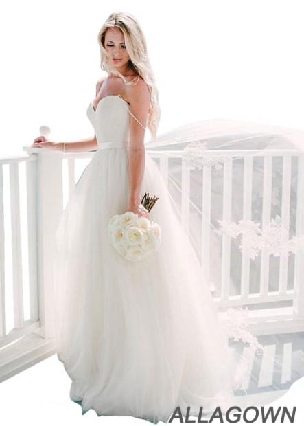 Allagown Modest Wedding Dress
