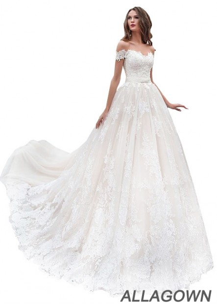 Allagown Tull Lace Wedding Dresses and Gowns Online Sale