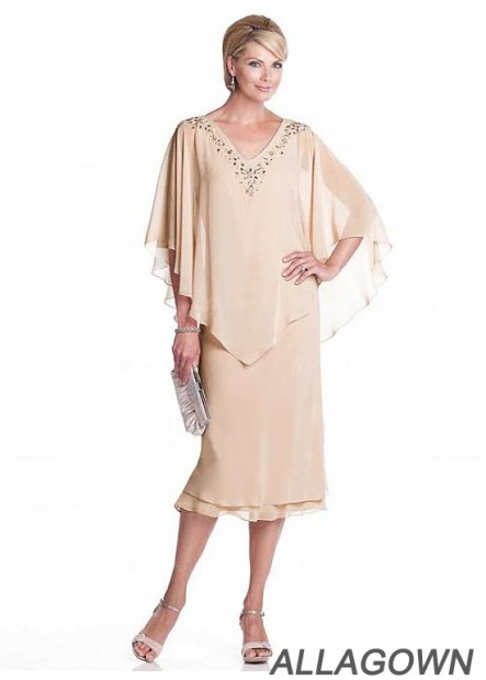 Allagown Mother Of The Bride Dresses For Short And Fat 2021