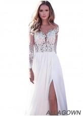 2021 Cheap White Beach Lace Wedding Dresses