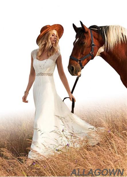 Allagown 2021 Cheap Pinterest Wedding Dresses Sale
