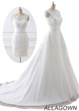 Allagown 2020 Long and Short Wedding Ball Gowns USA