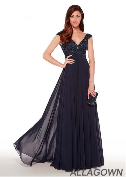 2021 Mother Of The Bride Dress Long V Neck Evening Dress