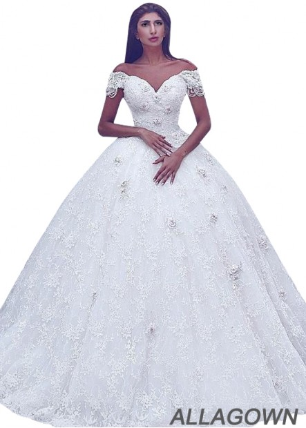 Allagown Plus Size Ball Gowns