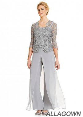 Mother Of The Bride Dress Mother Pantsuits In Three Pieces