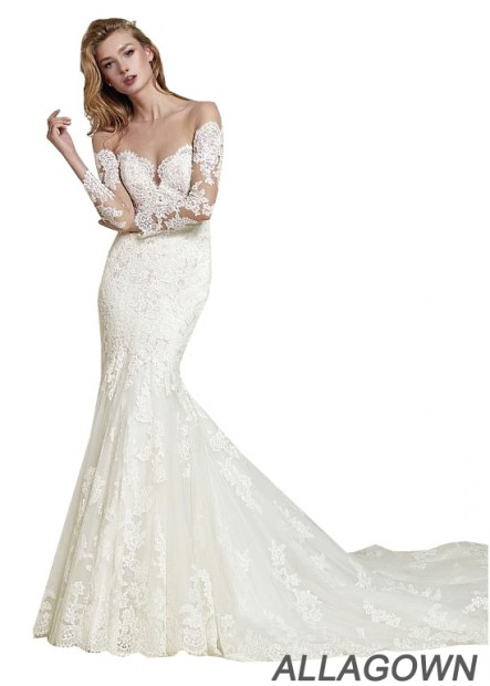 Allagown Lace Wedding Dress