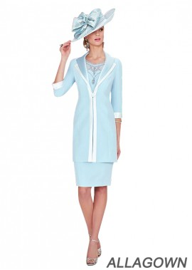 Allagown 2021 Mother Of The Bride Dresses With Jackets