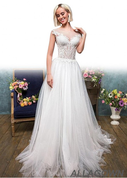 Allagown Beach Wedding Dresses