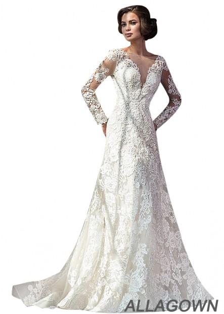 Allagown Lace Wedding Dress